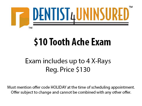 Coupon Tooth Ache Exam